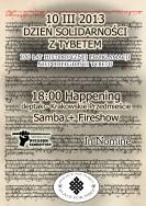 Międzynarodowy Dzień Solidarności z Tybetem - Lublin 2013