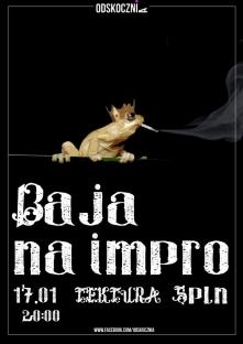 Zaczarowany plakat Bai na Impro