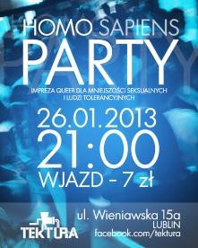 Homo [Sapiens] Party