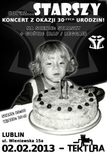 Starszy - urodziny (plakat)