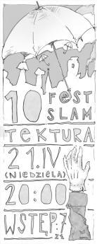 FEST SLAM - plakat Tomek Maped Pizoń