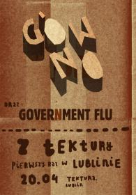 Gówno - Government Flu - Tektura