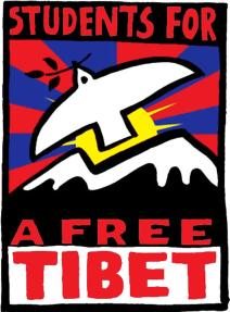 Students for a Free Tibet - plakat
